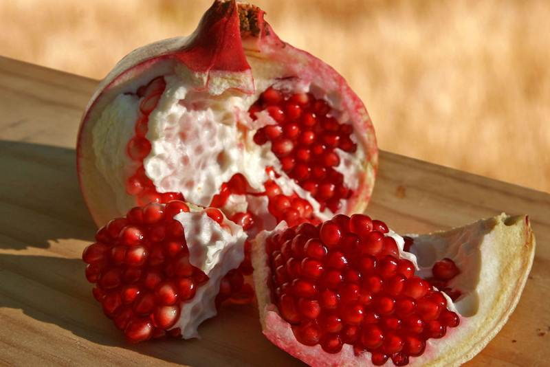Pomegranate is said to have multiple healthy benefits