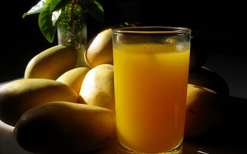 Mango Juice – health benefits of mangoes