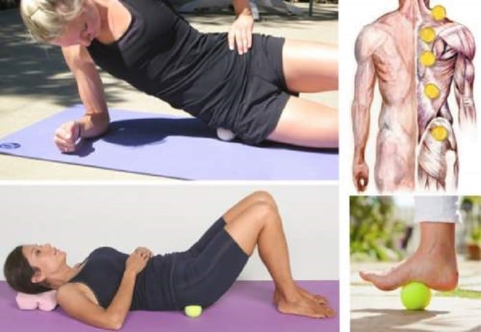 Tennis Ball to Relieve Your Sciatic Nerve Pain