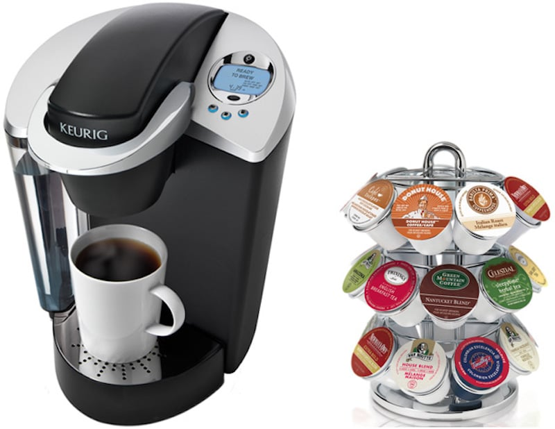 keurig machine and k cups