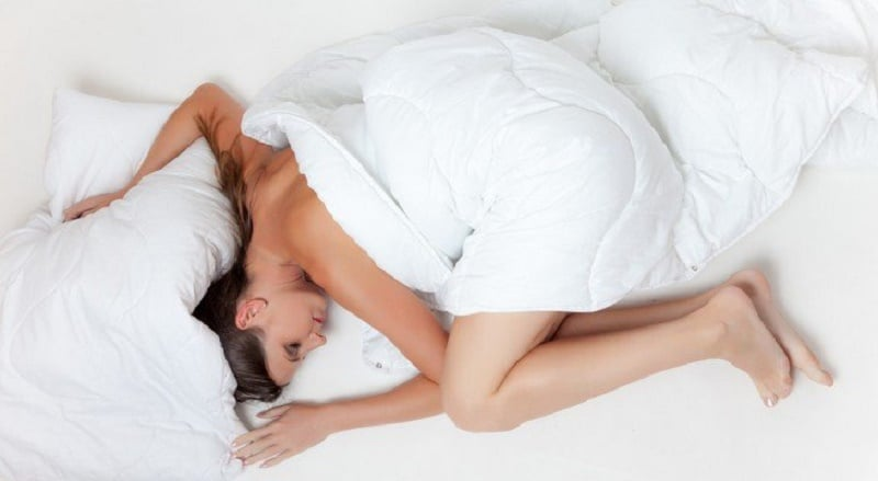 Sleeping Naked Is Good For Your Health