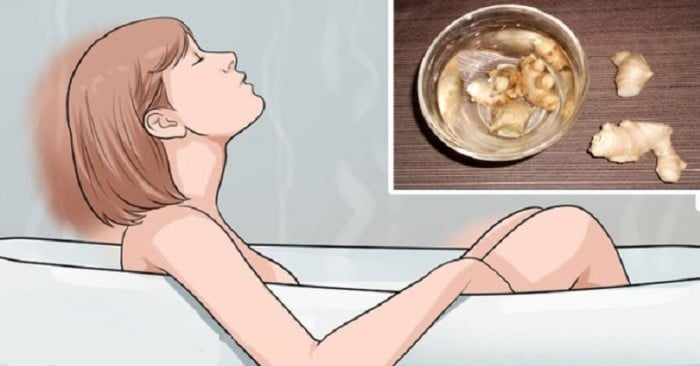 The Benefits of Ginger Bath