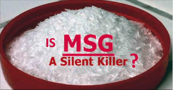 is MSG a silent killer