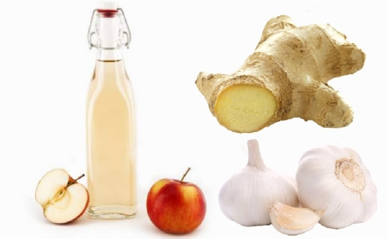 apple-cider-vinegar-ginger-and-garlic
