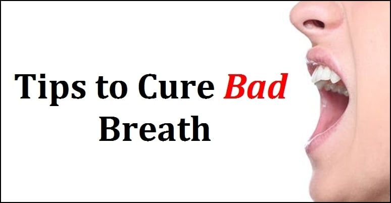 Tips To Cure Bad Breath Human N Health