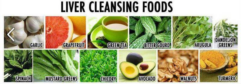 liver cleansing foods