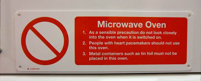 microwave oven side effects